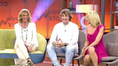 Ismael Beiro, María José Galera y Ania Iglesias, juntos en un plató 19 años después del estreno de 'GH'