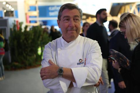 Joan Roca, cocinero y chef español del restaurante El Celler de Can Roca