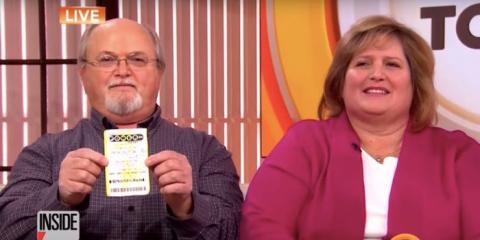 John y Lisa Robinson de Tennessee, EEUU, se llevaron a casa un tercio del premio de 1. 500 millones de dólares en el bote de Powerball en 2016.
