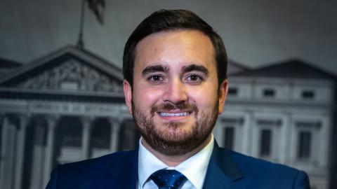 José Ángel Alonso, el diputado más joven del PP.