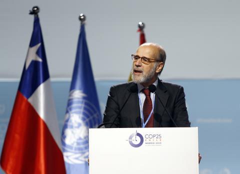 José Domínguez Abascal, secretario de estado de Energía en funciones de España.