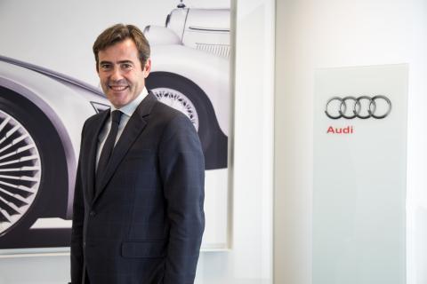 José Miguel Aparicio, director General de Audi España.