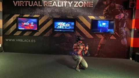Jugando con HTC Vive Pro