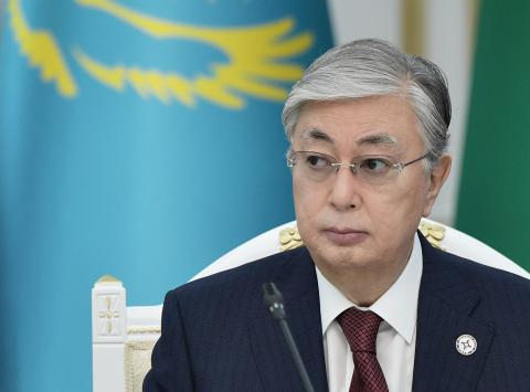 Kassym-Jomart Tokayev, presidente de Kazajistán