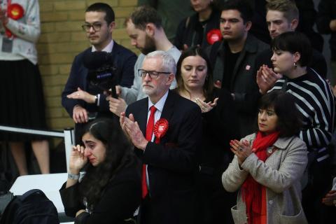 El líder laborista británico, Jeremy Corbyn