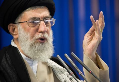 El líder supremo de Irán, Ali Jamenei