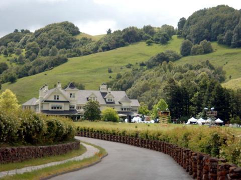 """El """"Skywalker Ranch"""" en el condado de Marin en 2005."""