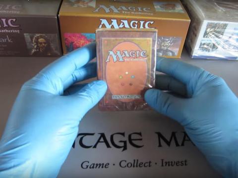 Magia: El juego de cartas del Encuentro.