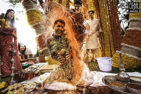 Las ceremonias Haldi son tradicionales en la cultura india.