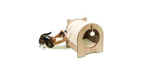 Mejor cama original para gatos con rascador