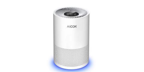 Mejor purificador de aire para mascotas Aicok