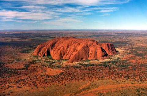 Monte Uluru, Australia