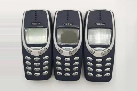 Nokia 3310, el primer teléfono móvil de muchos millennnials.