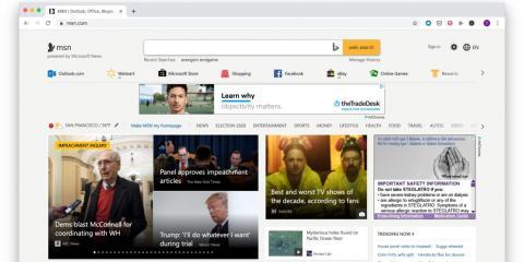 MSN, 2019