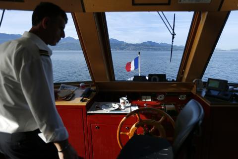 Oficial de barco.