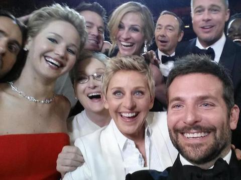 Ellen DeGeneres lo publicó.