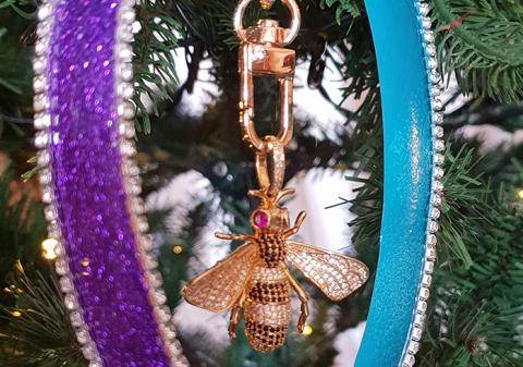 ornamento árbol de Navidad
