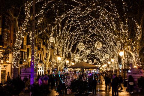 Palma de Mallorca en Navidad