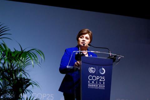Patricia Espinosa, secretaria ejecutiva de UNFCCC