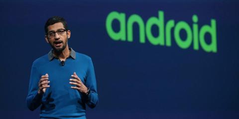 Pichai, al frente de Android desde 2013.