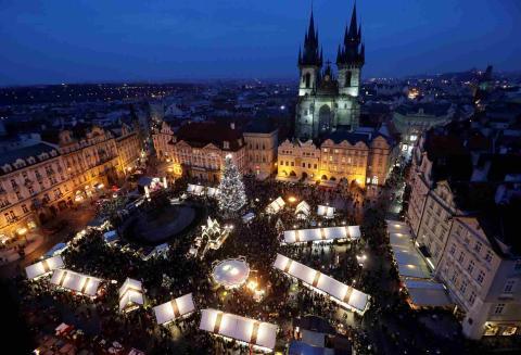 Praga, Navidad