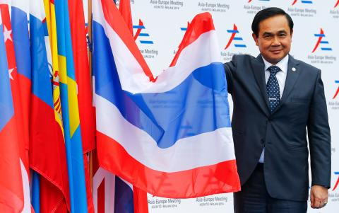 Prayut Chan-o-cha, primer ministro tailandés