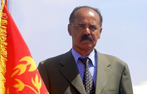 El presidente eritreo, Isaias Afwerki