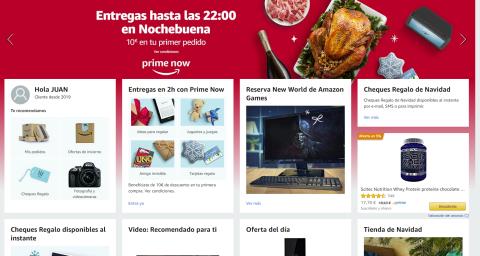 Promoción 10 euros de Amazon Prime Now