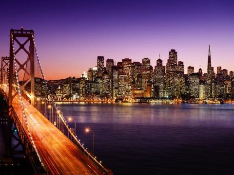 Un promedio de viaje en San Francisco es de unos 9,09 kilómetros.