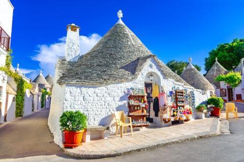 Puglia se está convirtiendo rápidamente en un destino popular en Italia, y es aún más relajada que otras partes del país.
