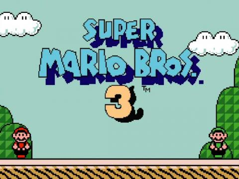 Super Mario Bros 3. para Nintendo.
