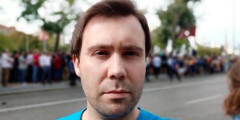 Realme 5 Pro - Foto retrato exterior