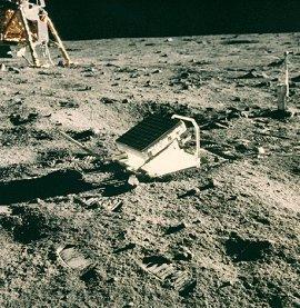 reflector en la Luna