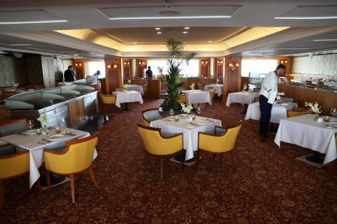 Restaurante de un crucero.