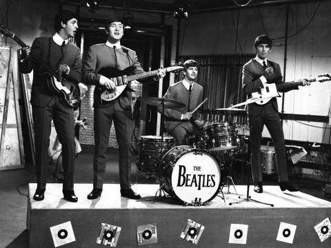 La batería vintage de Ringo Starr.