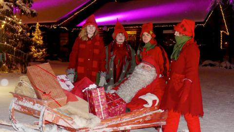 Santa Claus, Navidades