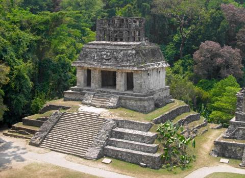 Sitio arqueológicos Palenque, México