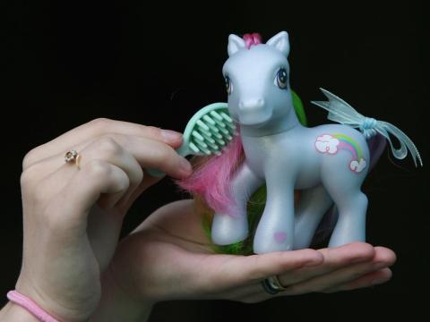 Un Mi Pequeño Pony.