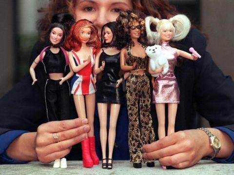 Muñecas Spice Girls de 1997.