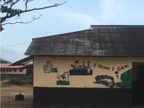 St. Mary's School in Korle Gonno in the Greater Accra Region of Ghana was the recipient institution of the crypto space drop.