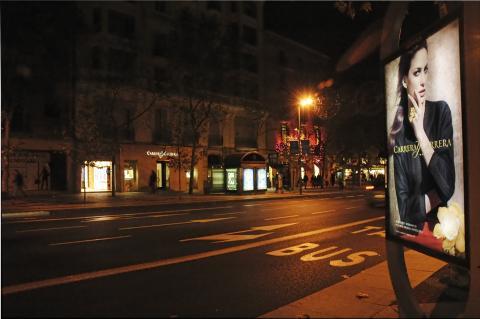 Una tienda de Carrera y Carrera en calle Serrano en Madrid