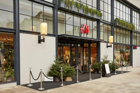 tienda HyM, cadena sueca