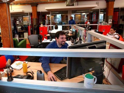 trabajador google