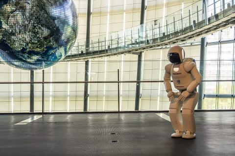 La última generación del robot ASIMO