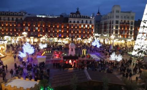 Valladolid en Navidad