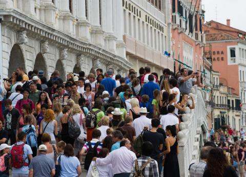 Crowds and Venice are unfortunately kind of a package deal these days.