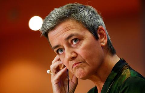 La vicepresidenta de la Comisión Europea y comisaria de Competencia, Margrethe Vestager
