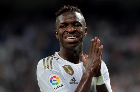 Vinicius Junior, futbolista del Real Madrid.