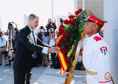 Visita oficial del rey a Cuba