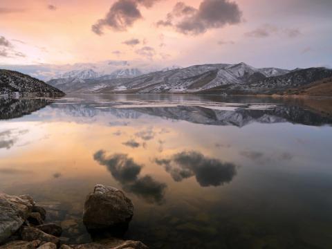Lago de Utah.